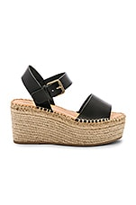 Soludos Minorca High Platform Sandal in Black