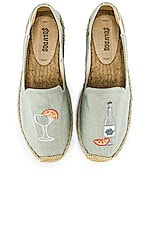 Soludos Agave Smoking Slipper in Chambray