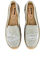 Soludos Let's Fly Away Smoking Slipper in Chambray