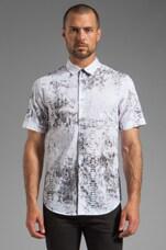 Snakeskin Shirt in White/Snakeskin