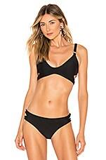 Storm Sicily Bikini Top in Black