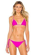 Storm Formentera Bikini Top in Fuchsia