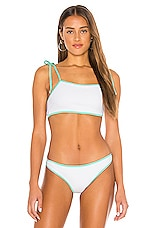 Storm Cayman Bikini Top in Seascape White