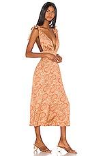 Song of Style Priya Midi Dress in Moroccan Multi