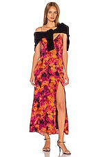 Song of Style Winifred Maxi Dress in Sunburst Multi