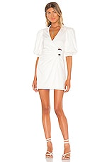 Song of Style Elinor Mini Dress in Ivory