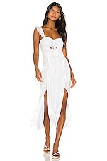 Song of Style Maven Dress in White