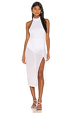 Song of Style Brix Midi Dress in White