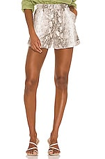 Song of Style Amora Shorts in Snake Multi