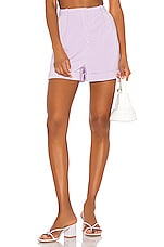 Song of Style Lou Short in Lilac Purple