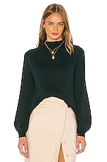 Song of Style Rylan Sweater in Dark Green