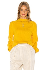 Song of Style Rylan Sweater in Yellow