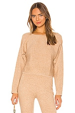 Song of Style Aurrera Sweater in Oatmeal