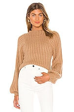 Song of Style Sofie Sweater in Camel