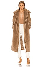 Song of Style Cole Coat in Brown Oat