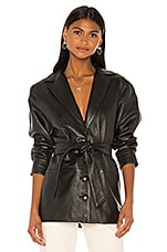 Song of Style Bennie Leather Jacket in Black