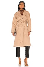 Song of Style Amelia Trench Coat in Nude Taupe