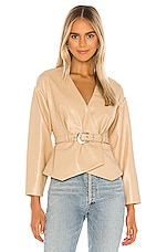 Song of Style Clove Jacket in Nude