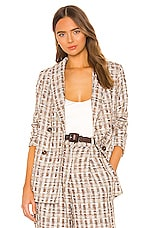 Song of Style Marley Coat in Plaid Multi