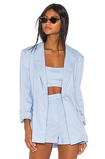 Song of Style Greta Blazer in Powder Blue