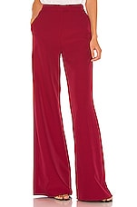 Song of Style Savannah Pant in Red Berry
