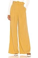Song of Style Ashton Pant in Autumn Yellow