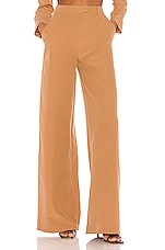 Song of Style Matilda Pant in Cedar Brown