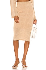 Song of Style Rina Skirt in Cinnamon