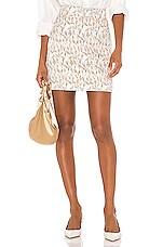 Song of Style Flora Mini Skirt in Tulip Multi