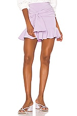 Song of Style Farah Mini Skirt in Lilac Purple