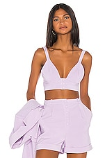Song of Style Lou Top in Lilac Purple
