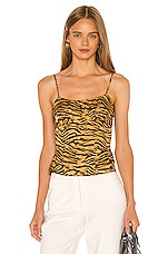 Song of Style Lula Top in Tiger Multi