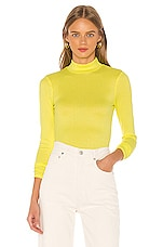 Song of Style Penny Top in Citrus Yellow