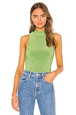 Song of Style Crawford Top in Moss Green