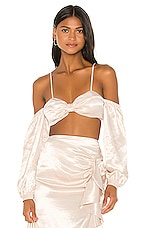Song of Style Melody Top in Porcelain Ivory