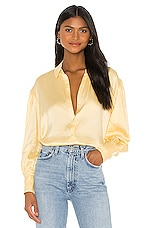 Song of Style Lydia Top in Buttercream Yellow