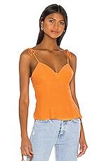 Song of Style Arthur Top in Tangerine Orange