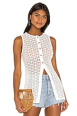 Song of Style Drea Top in White