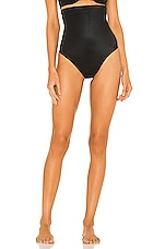SPANX Suit Your Fancy High Waist Thong in Very Black