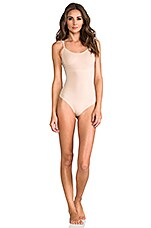 Trust Your Thin-stincts Thong Bodysuit in Natural