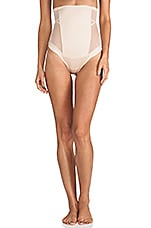 Oh My Posh High-Waisted Thong en Naturel