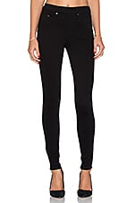 Twill Jegging en Very Black