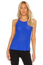 SPANX Perforated Tank in Bright Cobalt