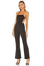 superdown Violetta Jumpsuit in Black
