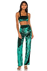 superdown x Draya Michele Dorian Pant Set in Green