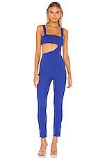 superdown Leslie Cut Out Jumpsuit in Cobalt Blue