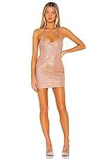 superdown Rebecka Mini Dress in Rose Gold