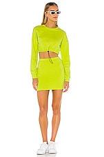 superdown Korina Skirt Set in Lime