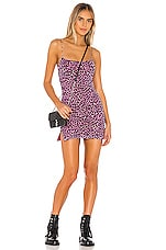 superdown Jaylee Mini Dress in Purple