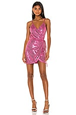 superdown x Draya Michele Expensive Date Dress in Hot Pink